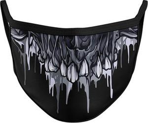 Vision Wear Sport Maska na twarz streetwear SKULL