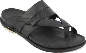 Czarne buty letnie męskie Venezia