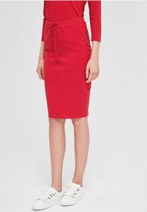 Czerwona spódnica Diverse w stylu casual