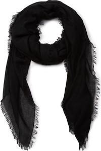Czarny szalik Guess w stylu casual