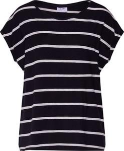 Bluzka Vero Moda z okrągłym dekoltem z krótkim rękawem w stylu casual