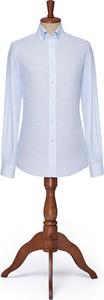 Koszula LANCERTO z długim rękawem z klasycznym kołnierzykiem z tkaniny