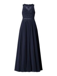 Granatowa sukienka Laona