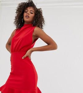 Sukienka Missguided Tall mini bez rękawów