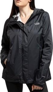 Czarna kurtka The North Face krótka w sportowym stylu