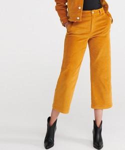 Spodnie Reserved ze sztruksu