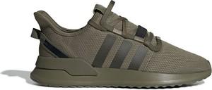 Zielone buty sportowe Adidas Originals sznurowane