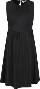Sukienka Calvin Klein bez rękawów z okrągłym dekoltem w stylu casual