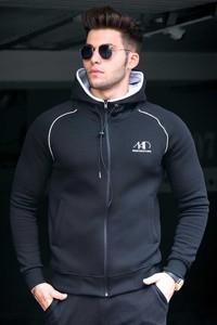 Czarna bluza IVET w młodzieżowym stylu
