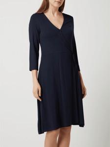 Sukienka Tom Tailor w stylu casual kopertowa z długim rękawem