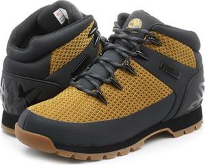 Buty zimowe Timberland sznurowane w sportowym stylu