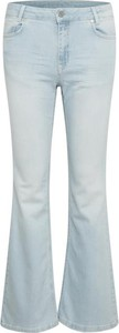 Niebieskie jeansy Denim Hunter w stylu casual