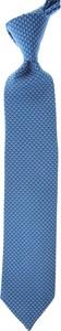 Niebieski krawat Battistoni