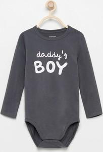 Czarne body niemowlęce Reserved