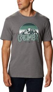 T-shirt Columbia w sportowym stylu