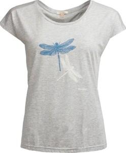 T-shirt Barbour w stylu casual z bawełny z krótkim rękawem