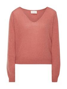 Różowy sweter American Vintage z moheru