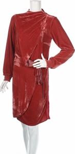Czerwona sukienka LUXURY