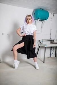 Spódnica REST_FActory z tkaniny midi
