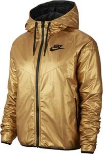 Brązowa kurtka Nike krótka