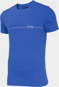 T-shirt Outhorn z krótkim rękawem z bawełny
