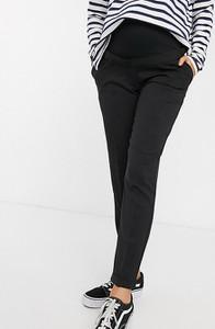 Czarne spodnie New Look Maternity w stylu casual