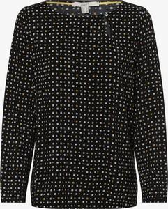 Czarna bluzka Esprit z długim rękawem