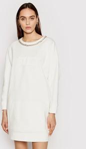 Sukienka Elisabetta Franchi z okrągłym dekoltem mini prosta