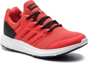 Buty sportowe Adidas w sportowym stylu ze skóry ekologicznej sznurowane