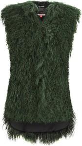 Zielona kamizelka Ochnik w stylu casual