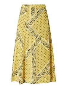 Żółta spódnica Jake*s Casual w stylu casual