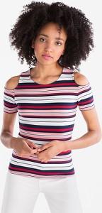 T-shirt CLOCKHOUSE ze skóry ekologicznej