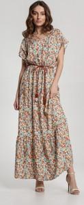 Sukienka Renee w stylu boho z dekoltem w kształcie litery v