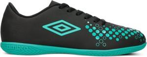 Czarne buty sportowe Umbro w sportowym stylu sznurowane