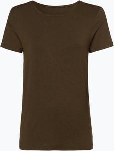 Zielony t-shirt Only z okrągłym dekoltem w stylu casual