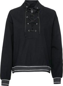 Czarna bluza bonprix RAINBOW w sportowym stylu