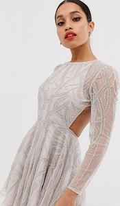 Sukienka Asos Edition z długim rękawem