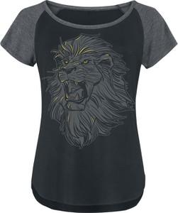 T-shirt Emp w młodzieżowym stylu z krótkim rękawem z nadrukiem