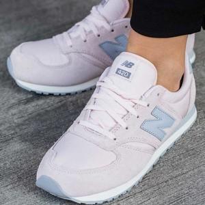 2c5e521b7b Różowe buty sportowe New Balance sznurowane