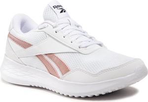 Buty sportowe Reebok sznurowane ze skóry ekologicznej