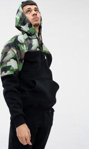 Bluza Point X w młodzieżowym stylu z nadrukiem z dzianiny