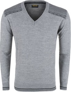 984ece8a koszula sweter w serek - stylowo i modnie z Allani