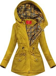Żółta kurtka Goodlookin.pl w stylu casual