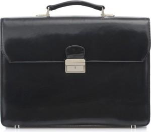 Czarna torebka Ochnik ze skóry