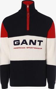 Sweter Gant z bawełny w młodzieżowym stylu