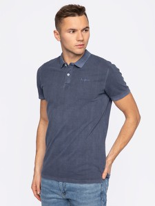 Granatowy t-shirt Pepe Jeans