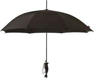 Czarny parasol Blooming Brollies