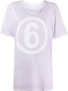 T-shirt MM6 Maison Margiela z krótkim rękawem