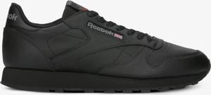 Czarne buty sportowe Reebok ze skóry