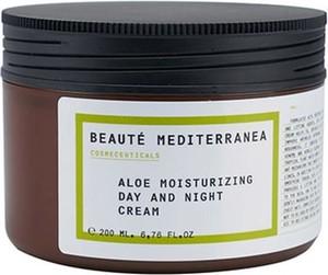 """Beaute Mediterranea Nawilżający krem do twarzy na dzień i na noc """"Aloe"""" - 200 ml"""